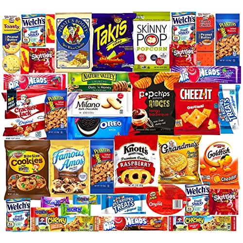 Ultimate Variety Sampler Care Package 40 Count - Halloween Pac...