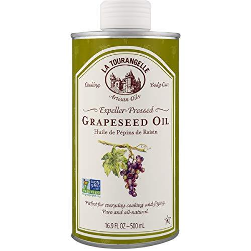 La Tourangelle Grapeseed Oil 16.9 Fl Oz, All-Natural, Artisanal,...