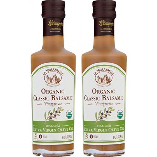 La Tourangelle Organic Classic Balsamic Vinaigrette, 8.45 fl. oz...