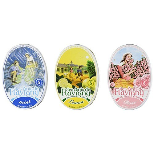 Anis De Flavigny - Mint, Lemon and Rose Flavored Candies From Fr...