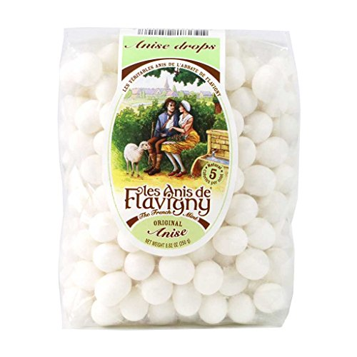 LAbbaye de Flavigny Anise Drops - French Hard Candy - Large Bag...