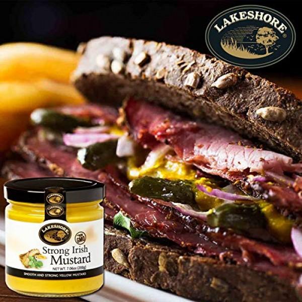 Lakeshore Strong Irish Mustard 7.7 oz. jar