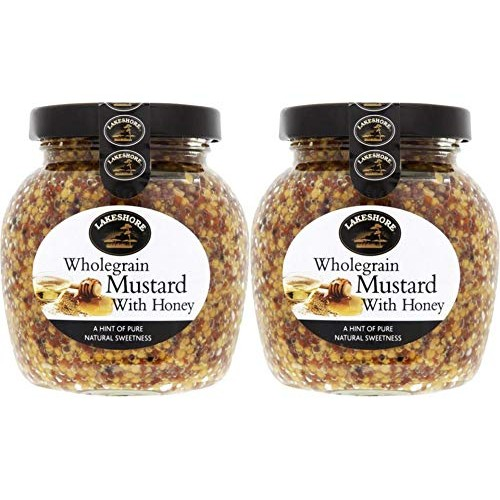 Lakeshore Wholegrain Mustard with Honey, 2 jar pack, 7.2oz/205g ...