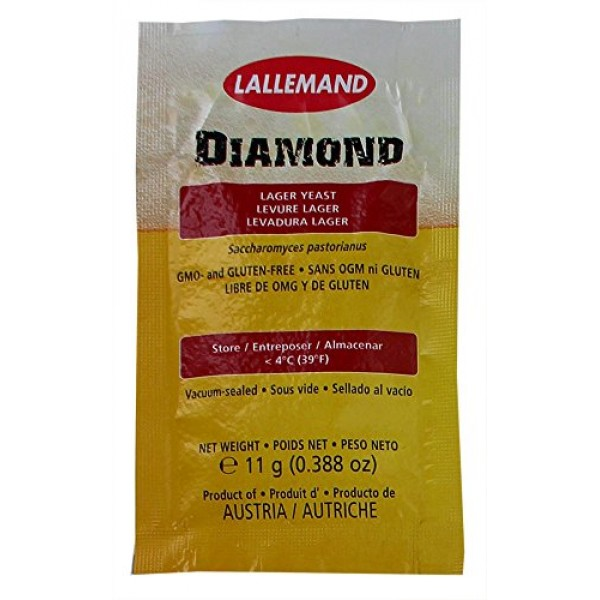 Lallemand Diamond Lager Dry Yeast 11 g