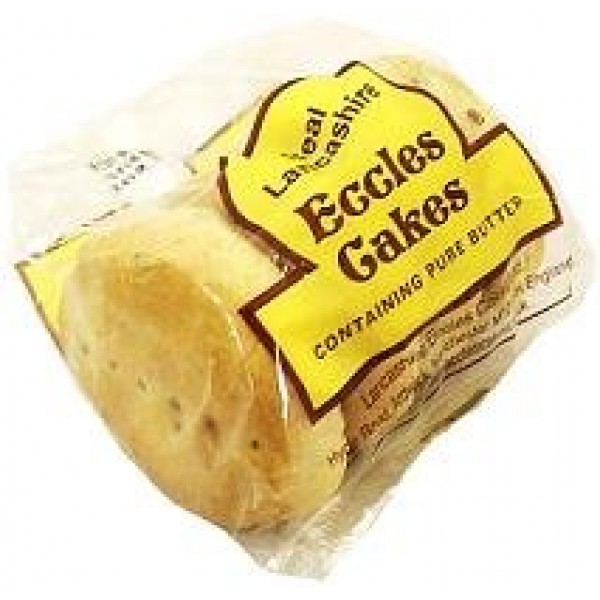 Lancashire Eccles Cakes 150g 4 Pack
