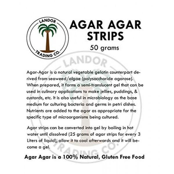Agar Agar Strips 50 Grams