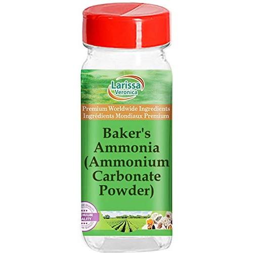 Bakers Ammonia Ammonium Carbonate Powder 1 oz, ZIN: 528706