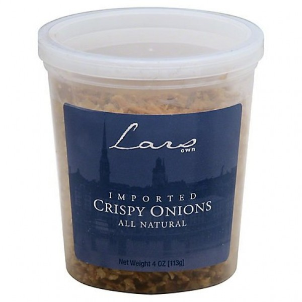 Lars Own Crispy Onions, 4-Ounce Containers 6