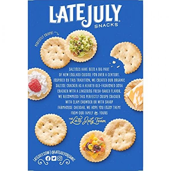 LATE JULY SNACKS Organic Multigrain Sea Salt Tortilla Chips 1.5 ...