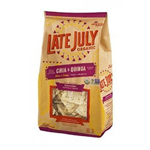Late July Restaurant Style Chia and Quinoa Tortilla Chips, 11 Ou...