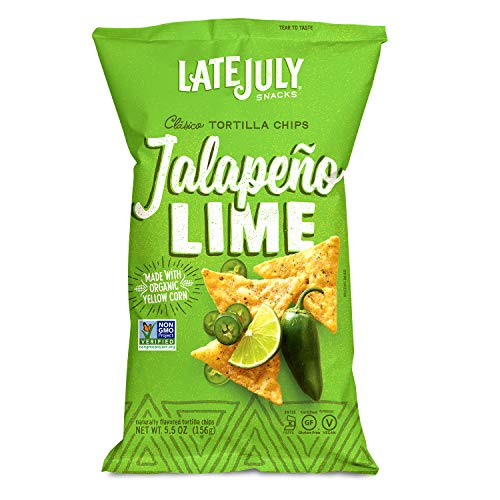 Late July Jalapeno Lime Tortilla chip, 5.5 oz