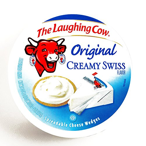 Laughing Cow Original Creamy Swiss Cheese 6 oz each 1 Item Per ...