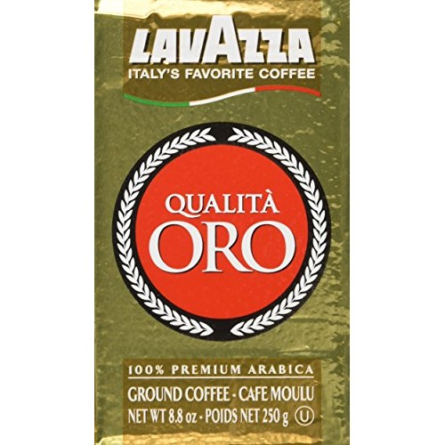 Lavazza Ground Coffee Qualita Oro 250g 4-pack