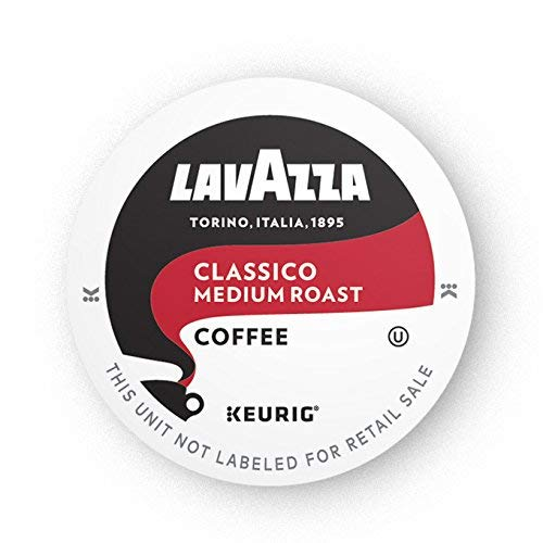 Lavazza Classico Single-Serve Coffee K-Cups for Keurig Brewer, M...