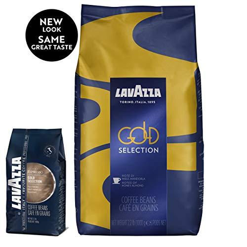 Lavazza Gold Selection Whole Bean Coffee Blend, Medium Espresso ...