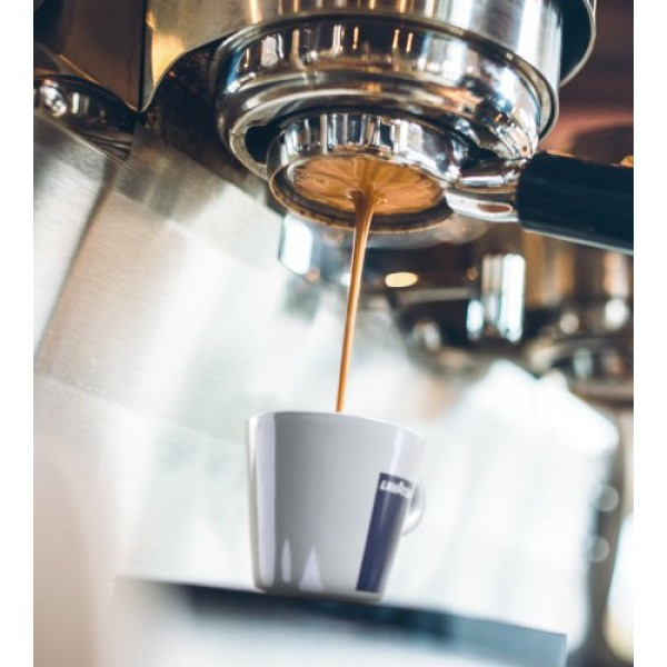 Lavazza Dek Ground Coffee Blend, Decaffeinated Dark Espresso Roa...