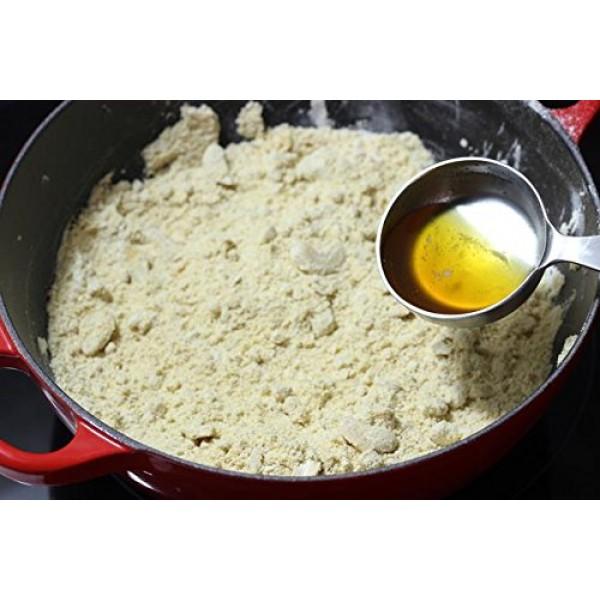 Laxmi Brand Gluten-Free Moong Flour Mung Bean Flour, 2-lb