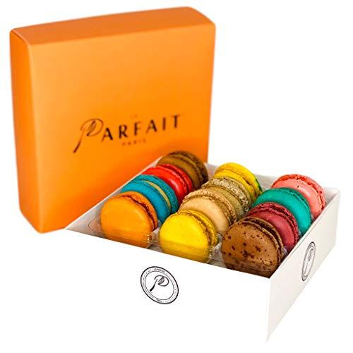 Macaron Variety Box by Award Winning French Bakery Le Parfait Pa...