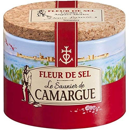 French Fleur De Sel Le Saunier De Camargue-Fleur De Sel - 4,41 Oz