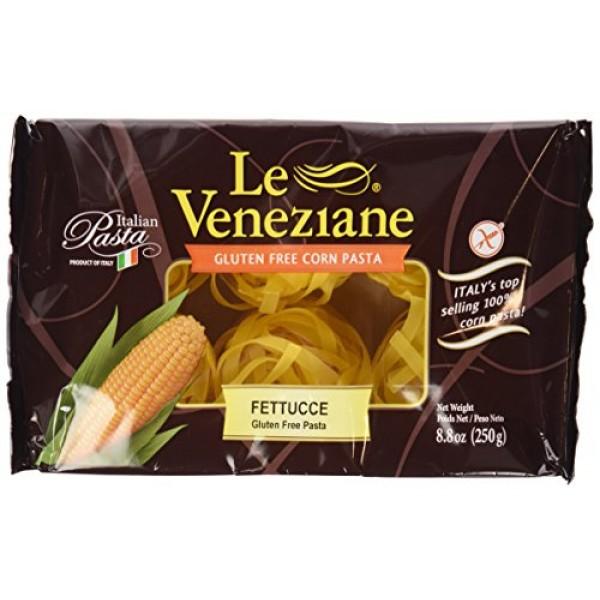 Le Venezian - Italian Fettucee [Gluten Free] 4 - 8.8 Oz Pkgs