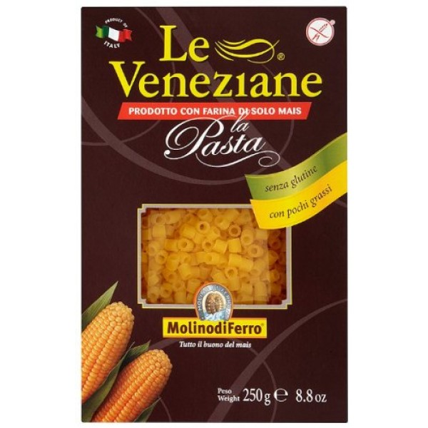 Le Veneziane - Italian Ditalini Pastina [Gluten-Free], 4- 8.8 ...