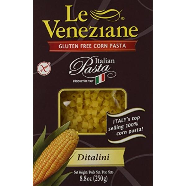 Le Veneziane Italian Gluten Free Corn Pasta Ditalini 250
