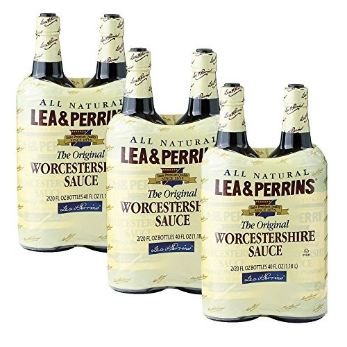Lea & Perrins Worcestershire Sauce-20 oz, 2 ct Pack of 3