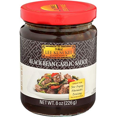 Lee Kum Kee Black Bean Garlic Sauce, 8-Ounce Jars Pack of 4