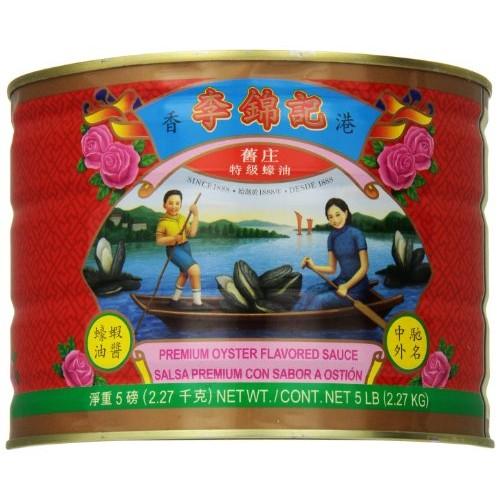 Lee Kum Kee Premium Oyster Flavored Sauce, 5 Pound