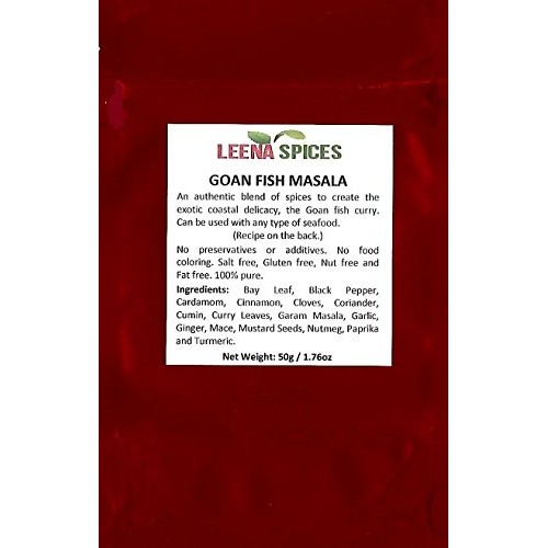 LEENA SPICES – Goan curry spices – Gluten Free Food Masala Powde...