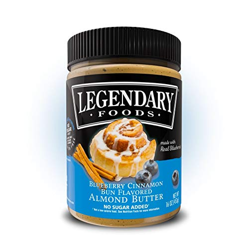 Legendary Foods Almond Butter   Keto Diet Friendly, Low Carb, No...