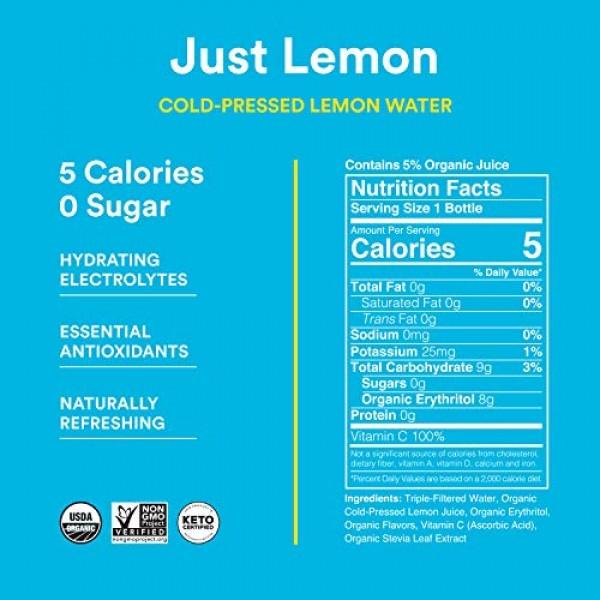 Lemon Perfect, Cold-Pressed Lemon Water, Just Lemon, Full of Fla...
