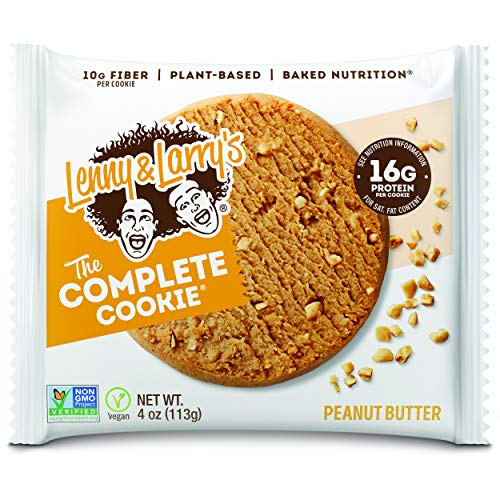 Lenny & Larrys The Complete Cookie, Peanut Butter, 4 Ounce Cook...