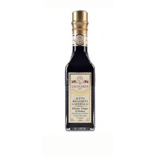 Leonardi Gold Seal Balsamic Vinegar of Modena 8.45 oz