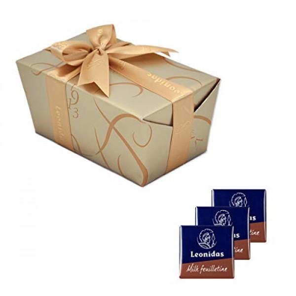 Leonidas Belgian Chocolates: 1 lb Napolitain Feuilletine Milk Ch...