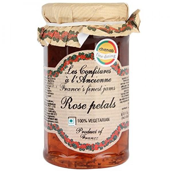 Rose Petal Jam Andresy All natural French jam pure sugar cane 9....
