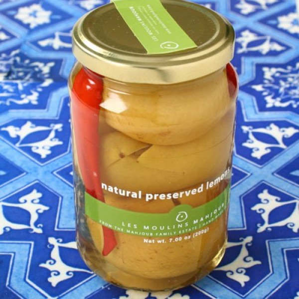Organic Preserved Lemons by Les Moulins Mahjoub 7.05 ounce