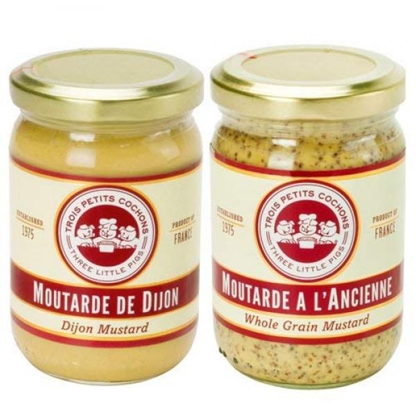 Moutarde a LAncienne by Les Trois Petits Cochons 7.1 ounce