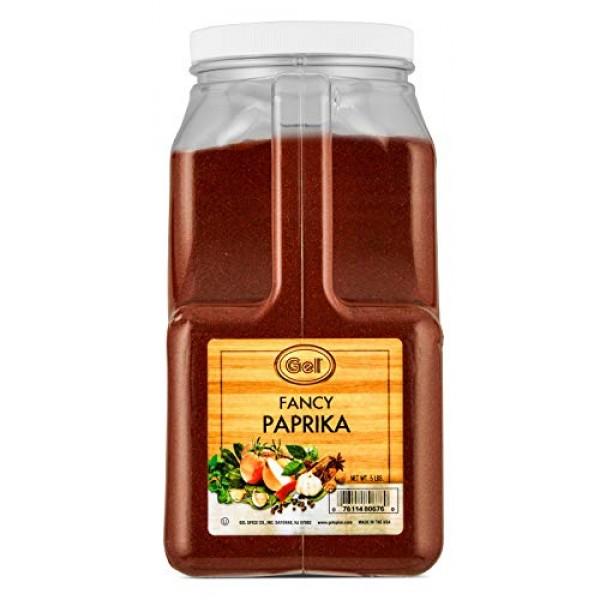 Gel Spice Fancy Paprika - 5 lb - Bulk Size