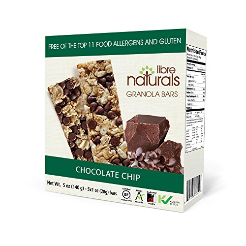 Nut Free, Gluten Free >> Chocolate Chip Vegan Granola Bar - Libr...