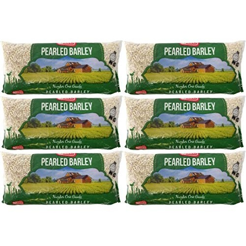 Pearl Barley, Kosher16 Ounce Bag 6-Pack Total of Six Pounds