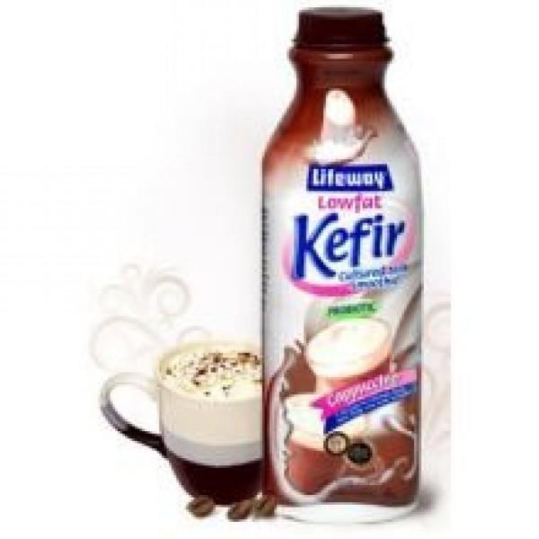 Lifeway Probiotic Low Fat Cappuccino Kefir, 32 Ounce -- 6 per case.
