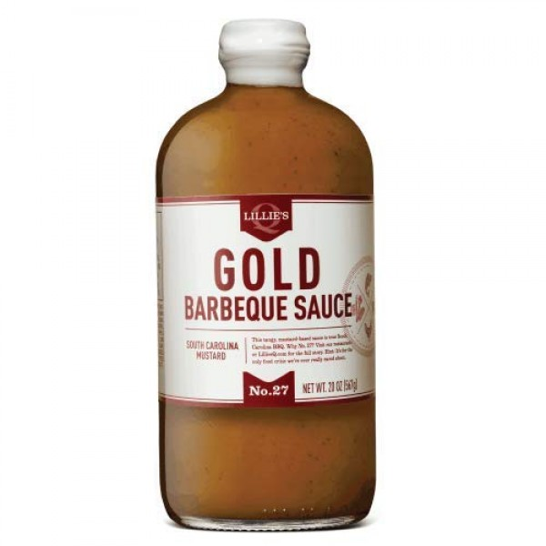 Lillie's Q Gold South Carolina Mustard Barbeque Sauce, 1 Pack