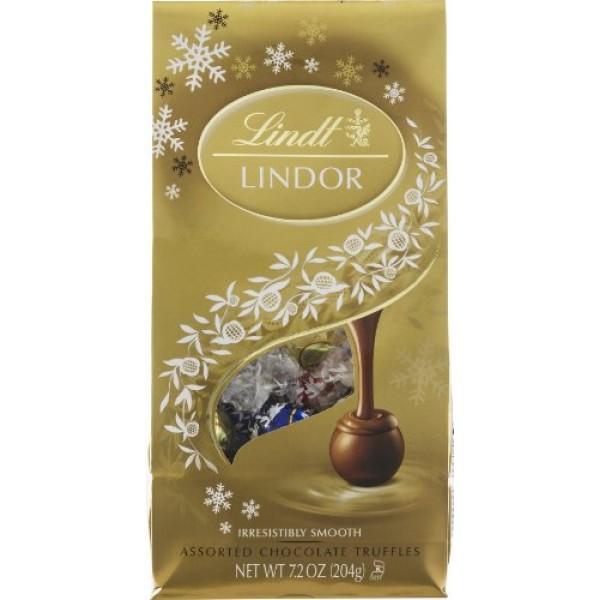 Lindt Lindor Assorted Chocolate Truffles 5.1 oz