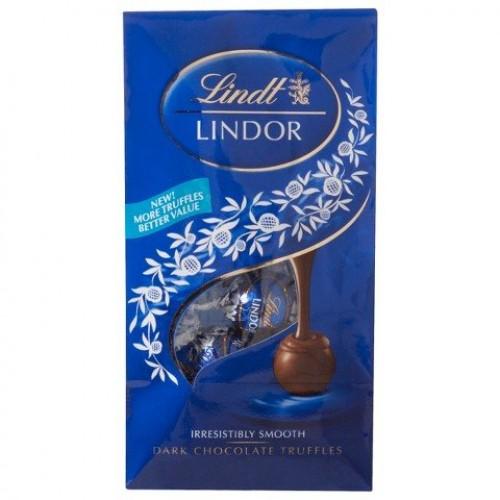 Lindt Lindor Dark Chocolate Truffles 6 oz