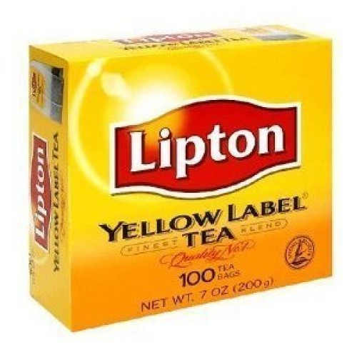 Lipton Yellow Label Finest Blend Tea Bags 100 tea bags Pack of 2...