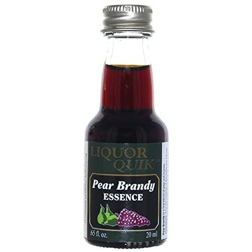 Pear Brandy - Liquor Quik Natural Brandy Essence 20 ml
