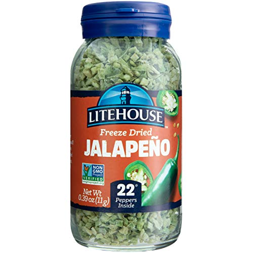Litehouse Freeze Dried Jalapeno Herb, .39 Ounce