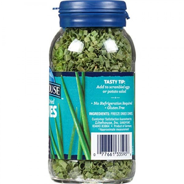 Litehouse Freeze Dried Chives, 0.25 Ounce