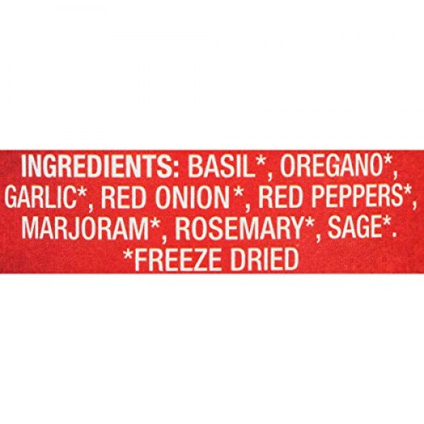 Litehouse Freeze Dried Italian Herb Blend, 0.49 Ounce, 4-Pack